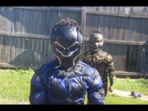 Welcome to WellKinda(wakanda inspired)...Black Panther fun for halloween!