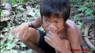 Video Primitive Technology - Eating delicious - Awesome cooking octopus on a rock MP3, 3GP, MP4, WEBM, AVI, FLV November 2018