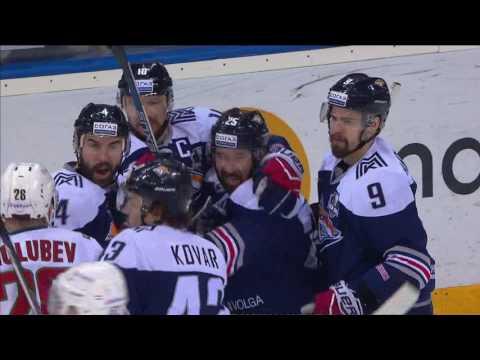 Zaripov scores off Kovar setup, Golubev confronts them both (видео)