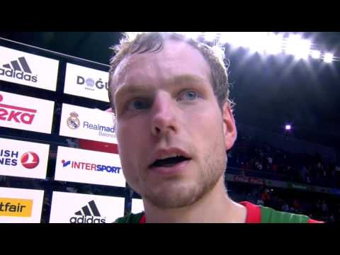 Post-game interview: Jaka Blazic, Baskonia Vitoria Gasteiz