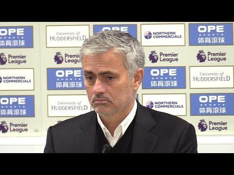 Huddersfield 2-1 Manchester United - Jose Mourinho Full Post Match Press Conference - Premier League (видео)