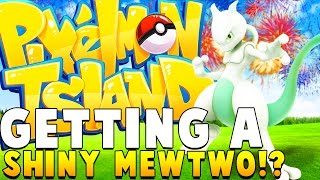 SHINY MEWTWO - Minecraft PIXELMON ISLAND - Pokemon QUESTS