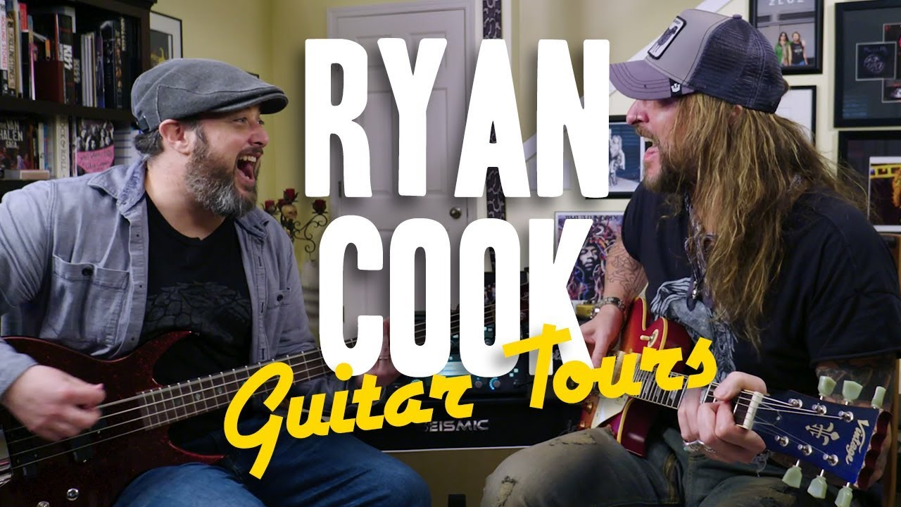 Ryan Cook On Playing with a Rock & Roll Legend | Marty's Guitar Tours