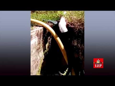 Petaquilla vierte aguas de las tinas de relave