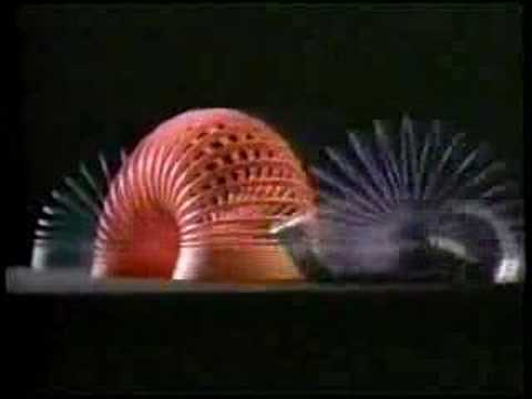 CLASSIC TV COMMERCIAL - 1980s - SLINKY #13 (видео)