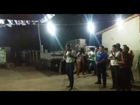 Discurso do antonio neto no Povoado curral grande de Morro do chapéu piaui