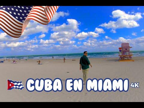 Pedacito de Cuba en Miami (4K) | Estados Unidos # 2