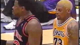 Rodman and Shaq vs Dudley
