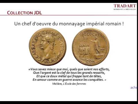 Les Éditions Tradart -  Collection JDL, N°48 - Sesterce de bronze. Caius, (Caligula), 37-41.