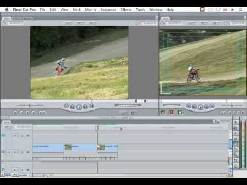 Strumento Speed in Final Cut Pro
