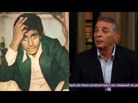 محمود حميدة: أحمد زكي غير مفهوم الوسامة في السينما