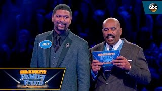 Video Jalen Rose's Close Call on Fast Money - Celebrity Family Feud MP3, 3GP, MP4, WEBM, AVI, FLV Juni 2018
