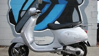 6. 2006 Vespa LX150 Scooter For Sale