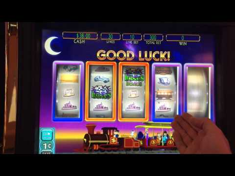 LIVE PLAY on Monopoly Jackpot Station Slot Machine with Bonus