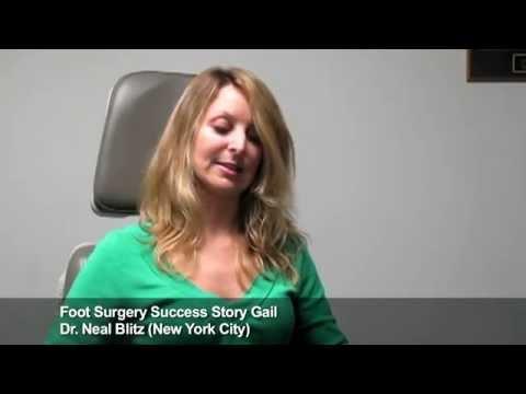 Gail: Rheumatoid Foot Surgery