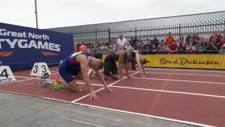 150m Men's Danny Talbot 15.06Richard Kilty 15.07Wallace Spearmon 15.19Harry AIkines-Aryeetey 15.29Great North City Games Newcastle 2016 FULL HD