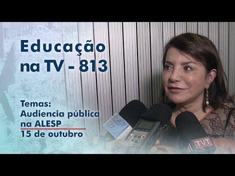 Audiência pública na ALESP / 15 de outubro