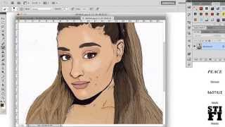 Ariana Grande | Coloured Drawing