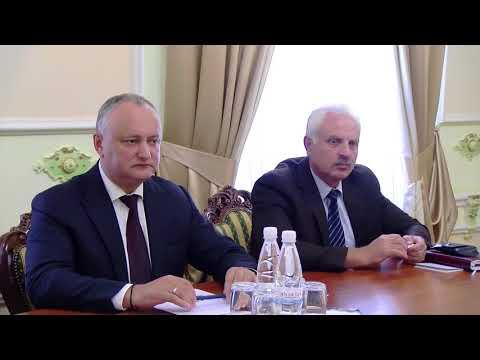 Президент Республики Молдова провел встречу с новым Послом Российской Федерации в нашей стране