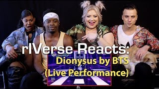 Video rIVerse Reacts: Dionysus by BTS - Live on Mnet Countdown Reaction MP3, 3GP, MP4, WEBM, AVI, FLV September 2019