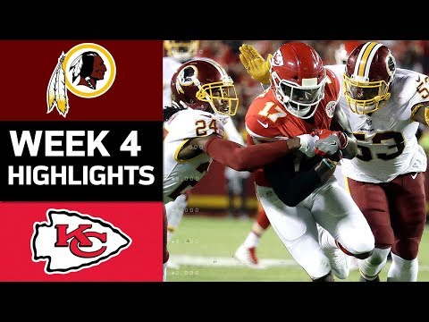 Video: Redskins vs. Chiefs | NFL Week 4 Game Highlights