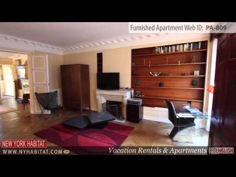 Video Tour of a 3-Bedroom Furnished Apartment in Madeleine, Paris