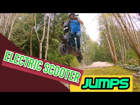 At the Bike Park : Flying on the Wolf Warrior