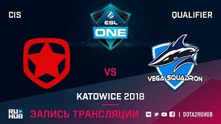 Gambit vs Vega Squadron, ESL One Katowice CIS, game 1 [Maelstorm, GodHunt]