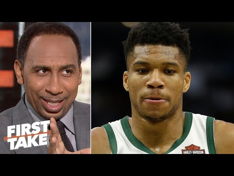 "Stephen A. ""strong reacts"" Bucks won't trading Giannis, will sign supermax extension with him"