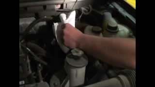 How to change your oil and filter on a 2006 f150