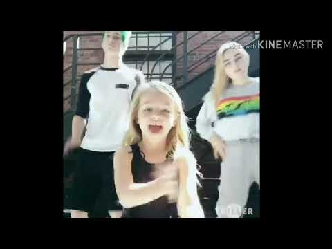 Meg, Milo and Kingston dance 🥰💜