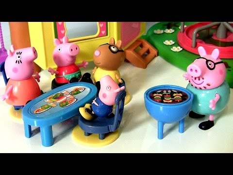 pig - Disney Collector presents Peppa Pig BBQ Time with Pedro Pony. Using Play Doh I made Hot Dogs for Peppa, her Mummy Pig, Daddy and brother pig. THX 4 watchin t...