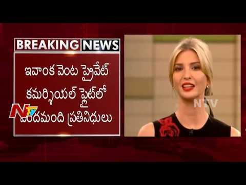 Ivanka Trump Hyderabad Tour Schedule || to Visit Golconda Fort & Falaknuma Palace