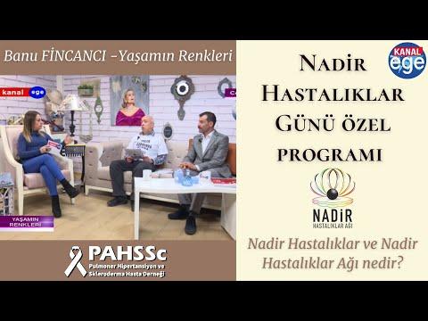 Kanal Ege Banu Fincancı Yaşamın Renkleri 28 03 2019 Nadir Hastalıklar Ağı