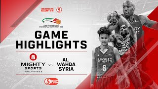 Highlights: Mighty Sports vs. Al Wahda Syria | 2019 Dubai International Basketball Championship