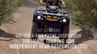 9. 2014 Can Am : Outlander ATV lineup