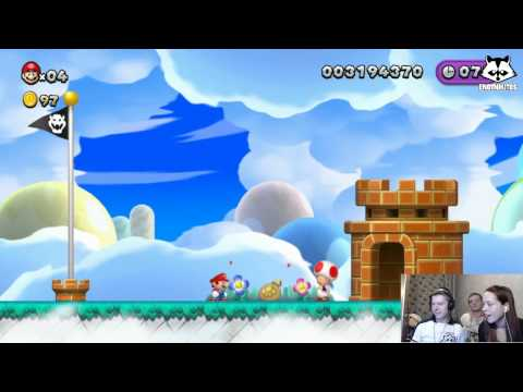 New Super Mario Bros. Wii U [ИгроПроходимец+Лизавета+Horosant] Part 08