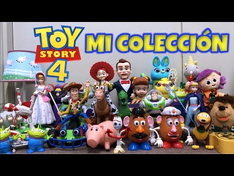 Mi COLECCIÓN de TOY STORY 4 | (Todos los Juguetes)