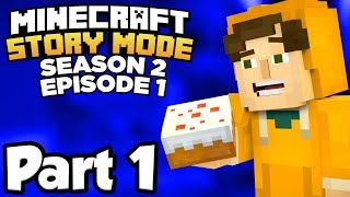 """Minecraft Story Mode Season 2 with Waffle! Minecraft Story Mode continues the story of Jesse and friends with Season 2 Episode 1!▶︎ Let's try to hit 150 LIKES! :^DMinecraft Story Mode continues with Season 2! Together with old pals and new comrades alike, Jesse embarks on a brand new journey filled with tough choices, good times, and at least one temperamental llama... Stay tuned for upcoming episodes of this series, starting with Episode 1, all the way through to Episode 5!▶︎ Minecraft Story Mode Season 2 series playlist- https://www.youtube.com/playlist?list=PL-JPD8A3qWVOO0VfDeCvy0SakvLC5gSSD▶︎ Minecraft: Story Mode Season 2 on steam- http://store.steampowered.com/app/639170/Minecraft_Story_Mode__Season_Two/▶︎ Outro Music: Gramatik - """"Native Son Prequel feat. Leo Napier""""- https://www.youtube.com/watch?v=q-_qX74UJKE- https://open.spotify.com/album/3aPvdKnM4IAKcKqTHHFbMs————————————————▶︎ Follow Me On Twitter! :^Dhttp://twitter.com/waffleverse"""