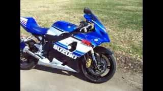 10. 2005 GSXR 750 SUZUKI