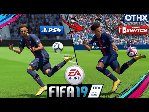 FIFA 19 | PS4 Vs Nintendo Switch Gameplay And Graphics Comparison Ft. Faces, Skills... | @Onnethox