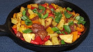 In this easy cooking video, I make some fried potatoes in my toaster oven. These toaster oven fried potatoes turned out great. In fact, I'll probably never fry ...