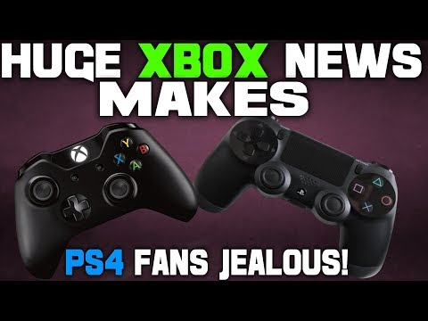 Unbelievable Xbox One Announcement Has PS4 Fans Jealous! Sony Fans Say Flip Out Say It's Not \