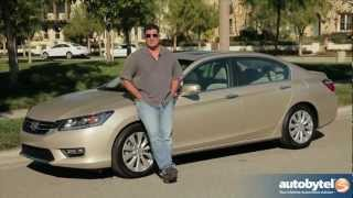 2013 Honda Accord Sedan Test Drive&Car Video Review