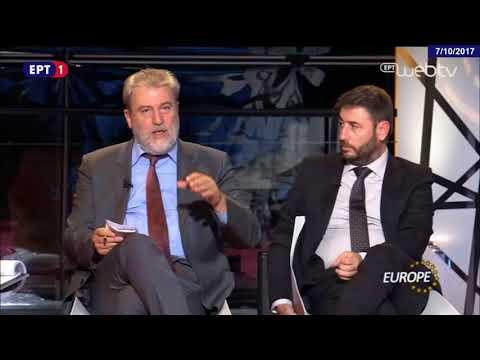 Ο Νότης Μαριάς στην ΕΡΤ1 για τις γερμανικές εκλογές και την Καταλονία