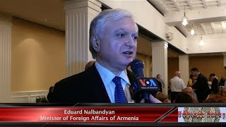 Interview with Foreign Minister of Armenia Eduard Nalbandyan