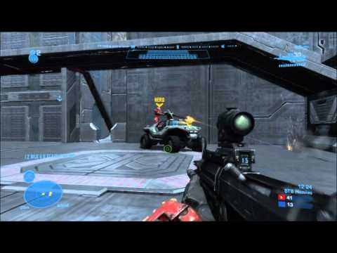 Halo Reach Multiplayer - In game 14 of my epic Big Team Battle multiplayer games, I play on Asphalt again for more heavies action. In this one, I fight a team of noobs who just rush ...