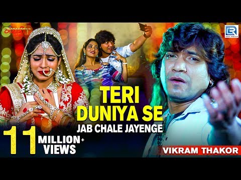 Vikram Thakor | Teri Duniya Se Jab Chale Jayenge | Full Video | New Hindi Sad Song | RDC Gujarati