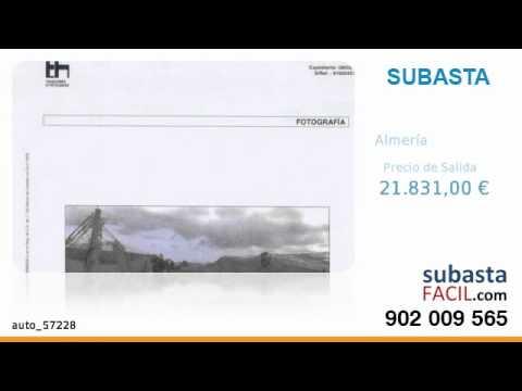 Subasta Judicial - Almería - Terreno