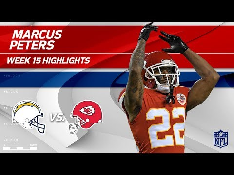 Video: Marcus Peters Picks Off Philip Rivers Twice in Week 15! | Chargers vs. Chiefs | Wk 15 Player HLs